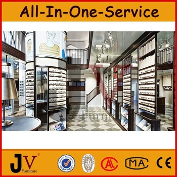 Attractive High Quality Custom Design Optical Shop Interior Design With Optical  Furniture