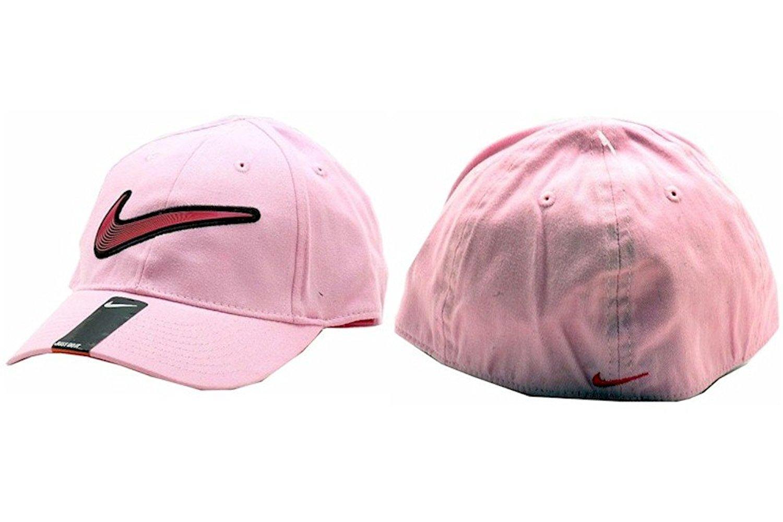 bd42fc4f1e0 Nike Girl s Embroidered Nike Swoosh Logo Baseball Cap Sz 4 6X