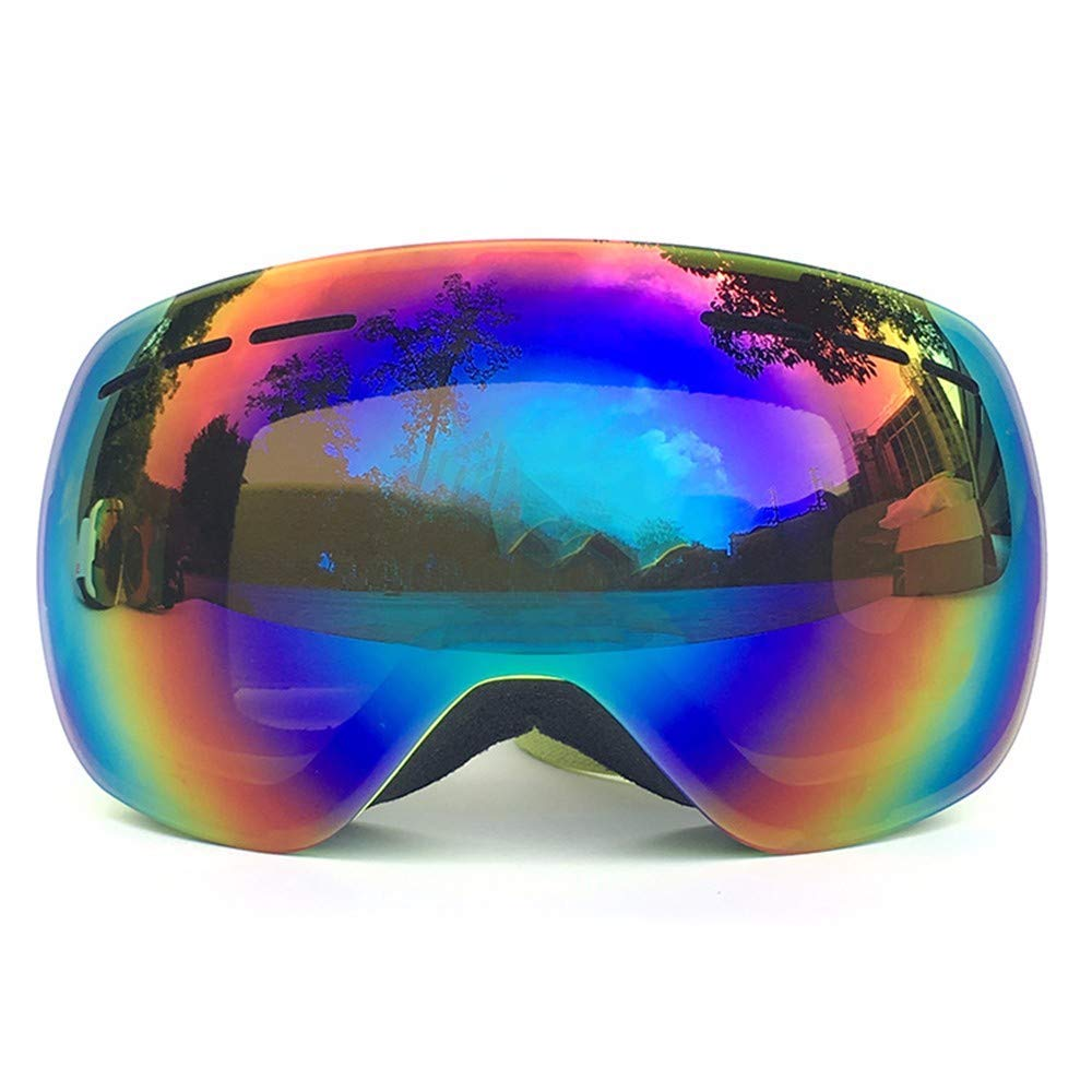 291519702577 Get Quotations · FRFG Ski Sports Sunglasses Large Spherical ski Goggles  Double Anti-Fog ski Goggles for