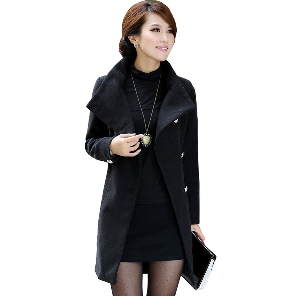 black winter coat women - photo #3