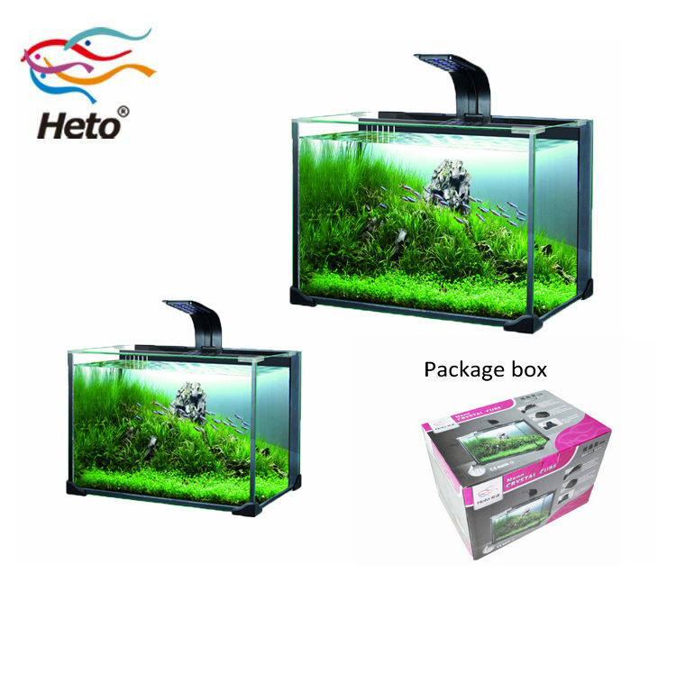 Chinese Mini Nano Cube Saltwater Waterval Aquarium