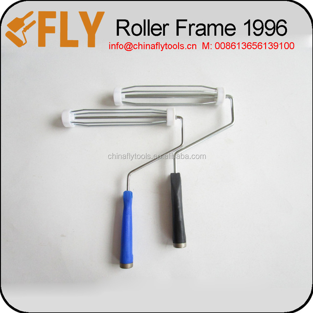 America style chrome plated 4 wire cages plastic handle paint roller frame  sc 1 st  Alibaba & chrome plated plastic handle paint roller frame-Source quality ...