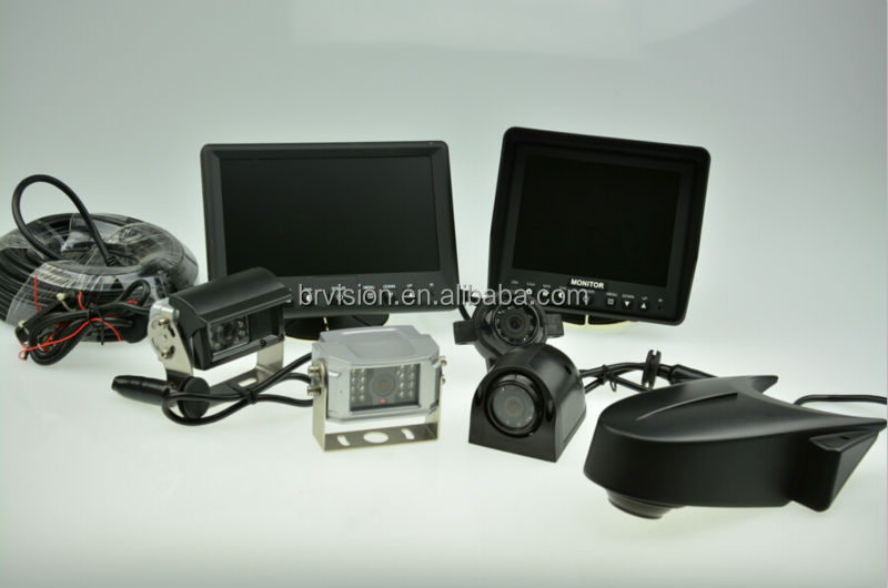 car gps and reverse camera IP 68 waterproof camera and dvr recording and accessories