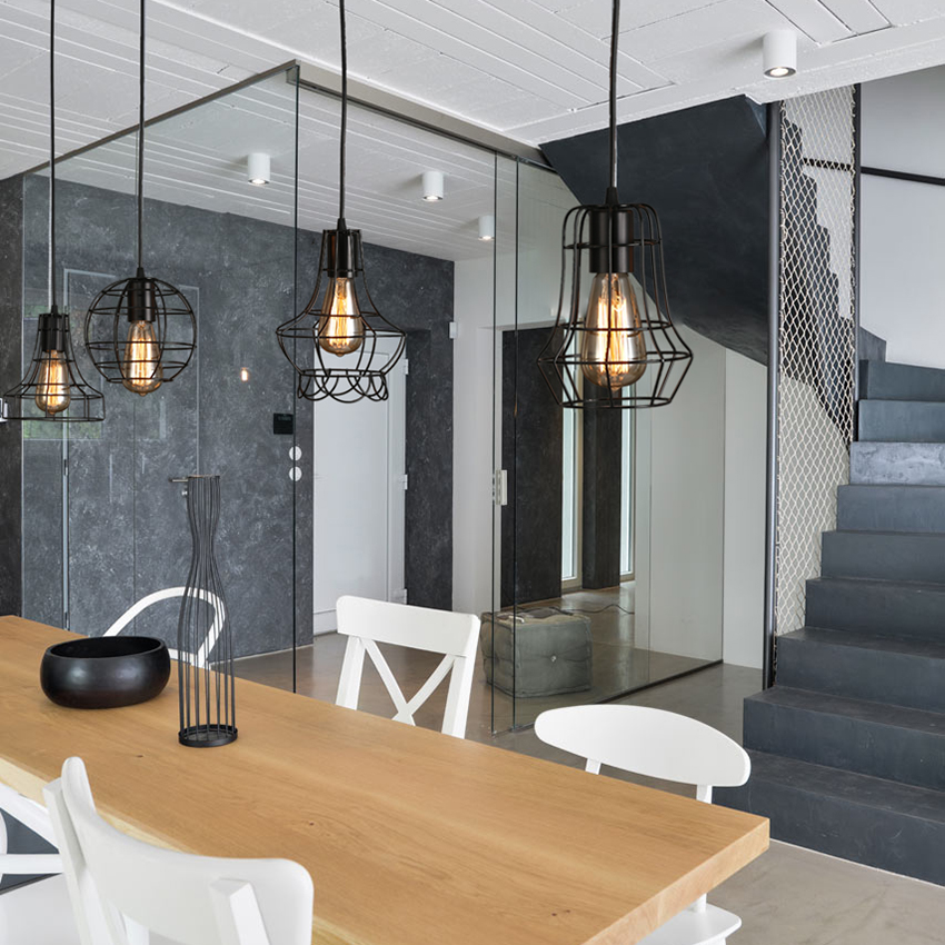 acheter bricolage antique noir cuisine lumi re luz vintage lampes suspendues. Black Bedroom Furniture Sets. Home Design Ideas