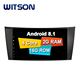 WITSON ANDROID 8.1 FOR MERCEDES-BENZ E-CLASS W211 / G-CLASS W463 / CLS W219 FINE CAR DVD PLAYER PIONEER