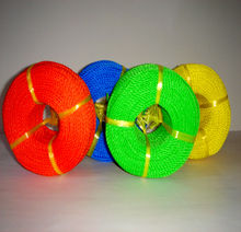 1.5mm,2mm,2.5mm,3mm Poly plastic like PE/PP twisted monofilament twine and rope