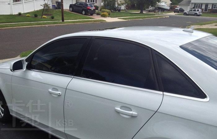 Vlt 5 15 20 30 car window tint film black solar