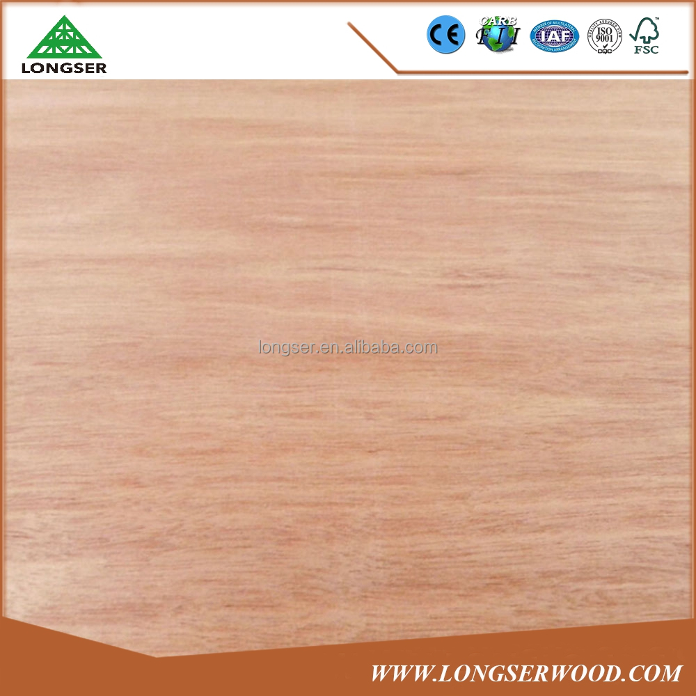 Plywood face venner 1220x2440x0.28mm keruing recon veneer
