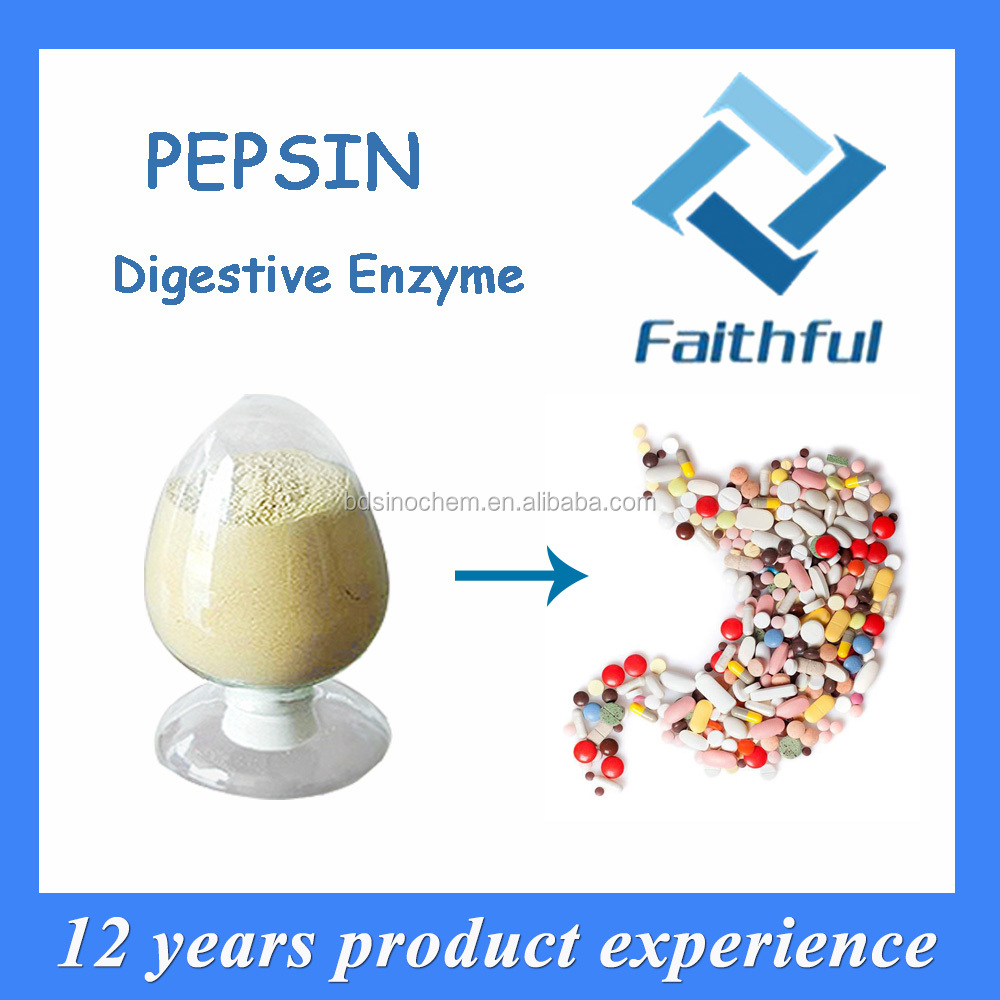 natural supplement Buy Pepsin acidol pepsin enzyme powder,food pharmaceutical pepsin,gastric medicine pepsin