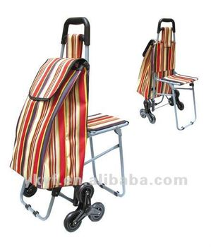 Pleasing Trolley Bag With Folding Chair Clubeserradeaires Com Pdpeps Interior Chair Design Pdpepsorg