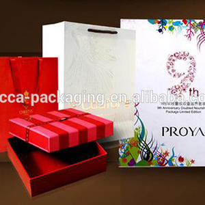 paper bag price FSC and SGS certificated factory paper carry bag