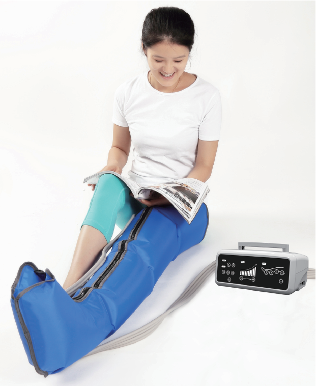 Electric Physical Therapy Air Pressure Leg Massage Machine