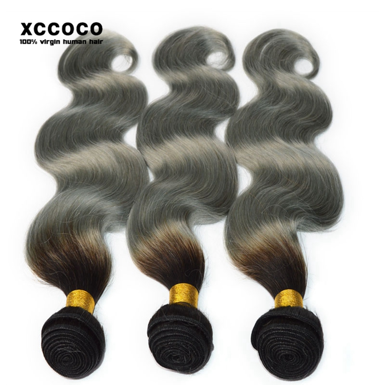 2017 Aliexpress Amazing Double Weft Unprocessed 100 Human Hair Weave Brands, Gray Hair Weave, Wholesale Hair Weave Distributors