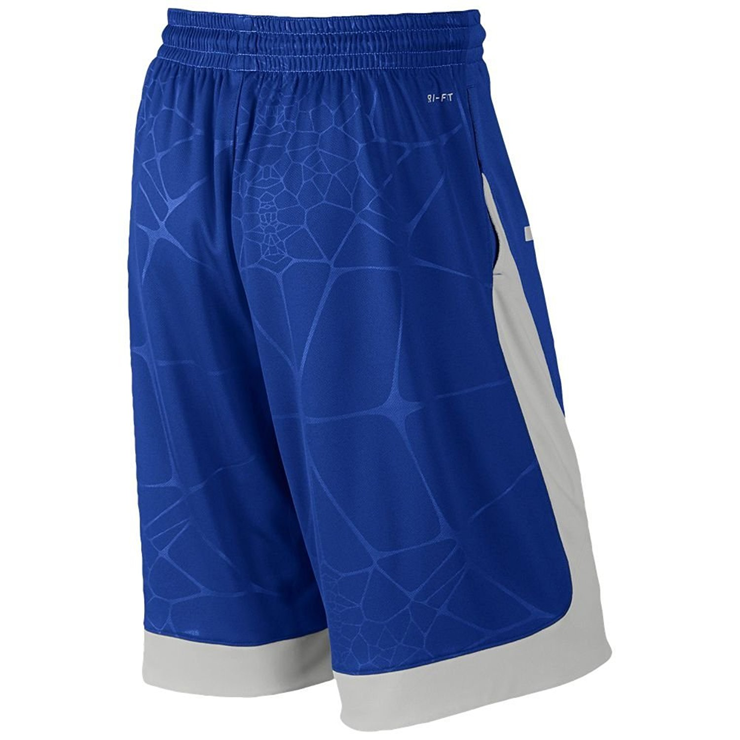 meet 43fa3 23219 Get Quotations · Nike Lebron Helix Essential Dri Fit Basketball Shorts Blue  Grey