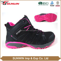 Newest hot style professional comfortable fit and non-slip wicking sexy hiking shoes for women