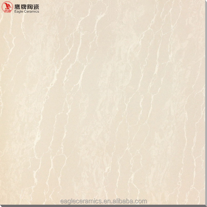 light yellow double loading porcelain tile, polished floor tiles, low price
