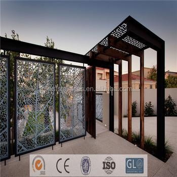 outdoor partition elegant garden screen decorative hanging room