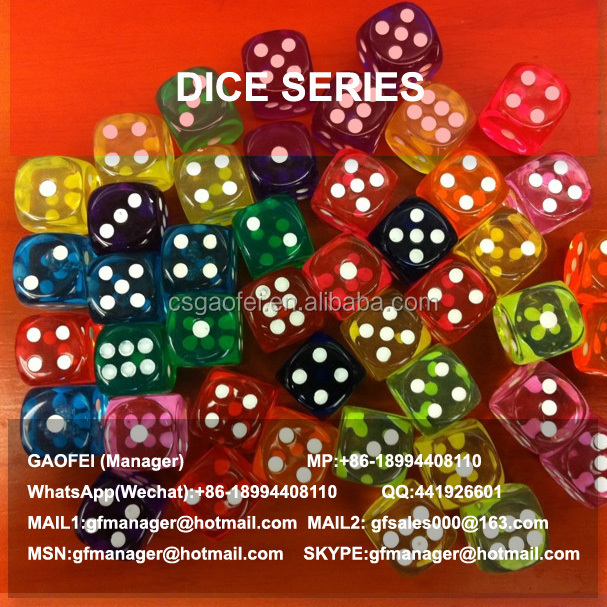 2015 hot sell foam dice for promotion using