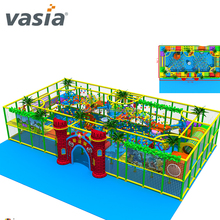 Attractive ball cannon shooter playground in supermaket