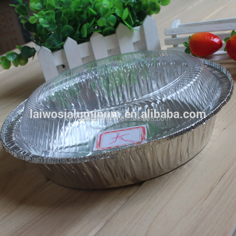 Round Aluminum Foil Pan/Tin Food Container/Tray/Plate