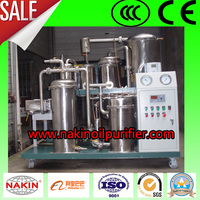 Vacuum Used Cooking Oil Filter Machine, Edible Oil Recycling Recovery System
