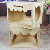 Best quality reasonable price nest house bed,cat ladder wooden house for dog kennel