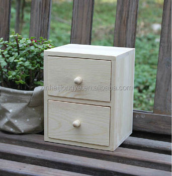 Wooden Mini Storage Drawers Cabinet