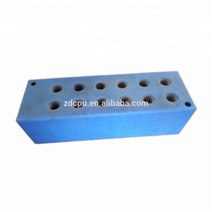 China Suppliers Mold black rubber blocks mount products