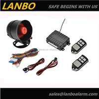 2013 New Design car canbus alarm/Car Alarm Security System