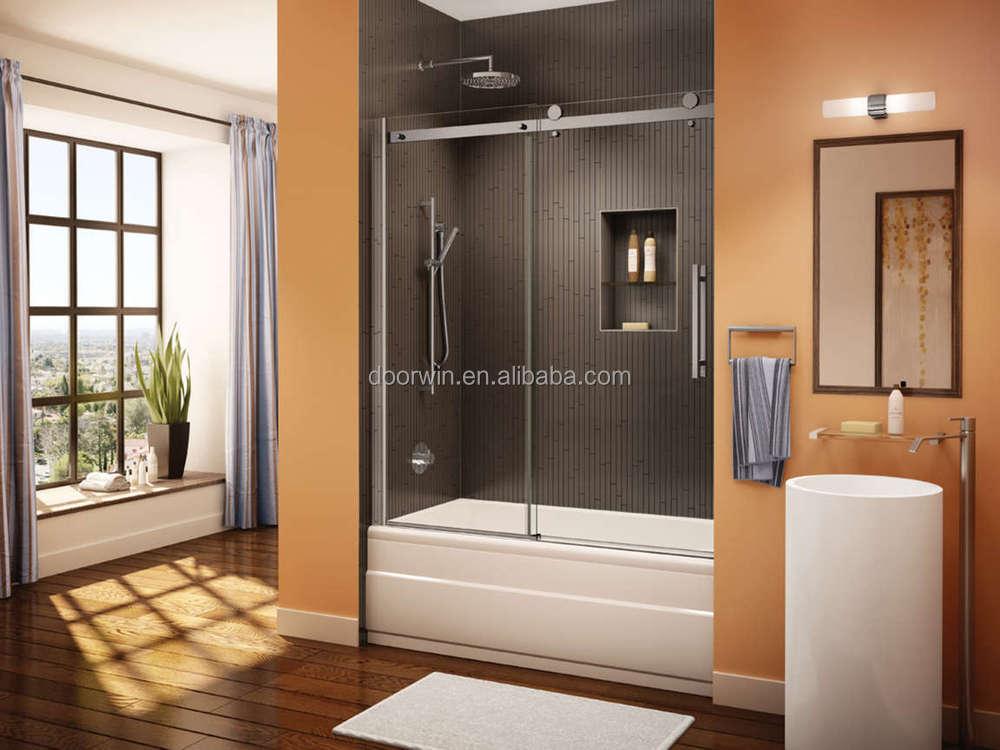Corner Tub Shower Door Sliding Systemshower Door Manufacturers