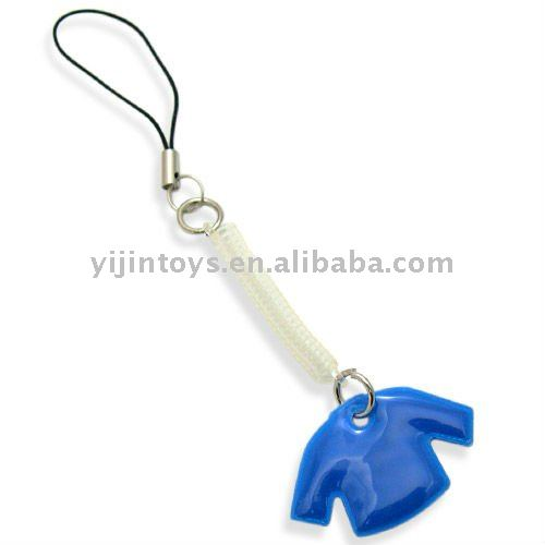 Cheap PVC keychain with phone;Plastic 3D keychain