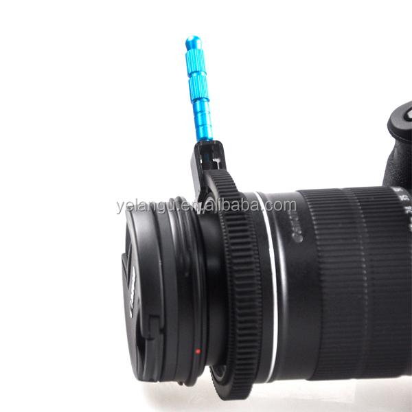 Escala de Enfoque Zoom palanca de mango de enfoque de seguimiento con anillo de engranajes para la lente de la Cámara dsu