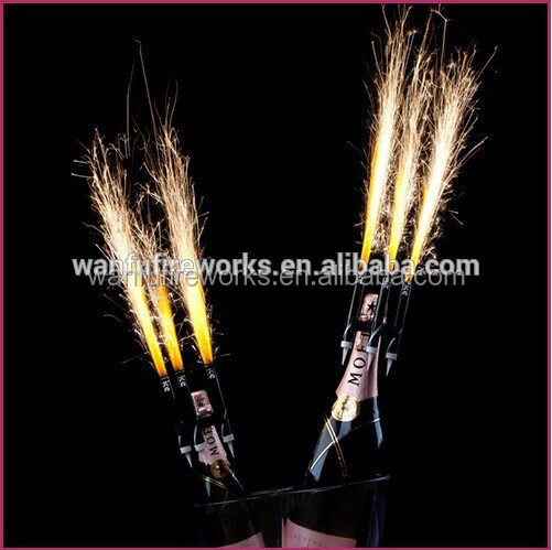 Christmas smokeless sparklers or party fireworks candles