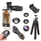 Cell Phone Accessories Clip18X Zoom Telescope Camera Lens Kit Remote Shutter