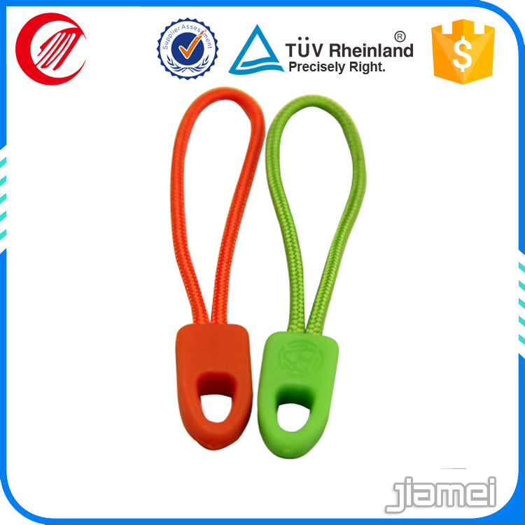 new products colorful rubber zipper cover
