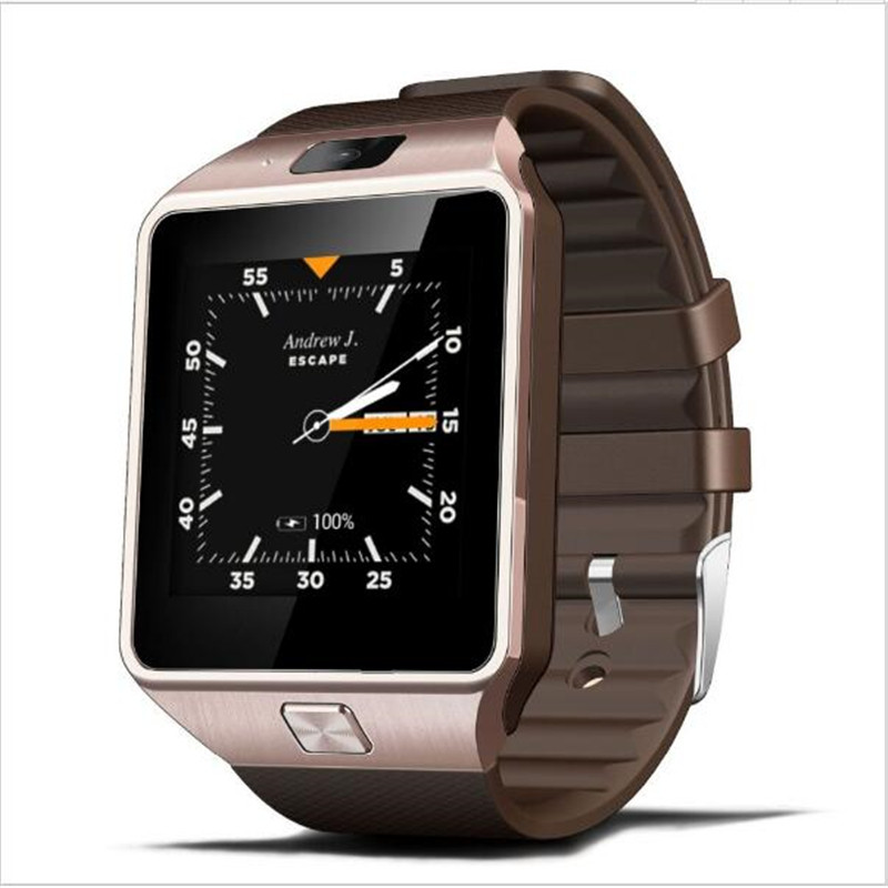 amazon hot sale products Mobile Phone Watch Touch Screen Support GSM Sim Card wireless Smart Watch for Samsung 2017