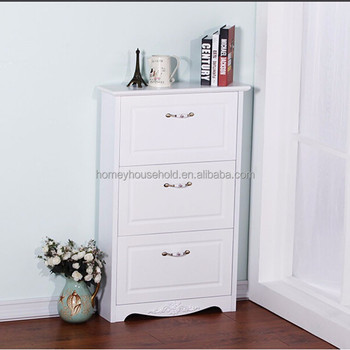 New Model Space Saver Luxury Solid Wood Shoe Cabinet Corner Shoe Storage Cabinet & New Model Space Saver Luxury Solid Wood Shoe Cabinet Corner Shoe ...