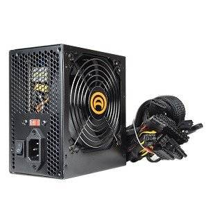 TronStore PSU Tester + A-Power 680 Watt 20+4-Pin ATX PSU Power Supply With SATA, PCI Express & Large 120mm Cool And Quiet Cooling Fan - (Black) - Retail Packaged