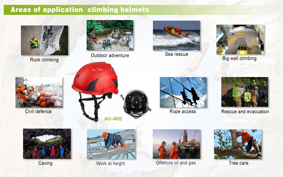 Water Rescue Climbing Safety Helmet With Clear Visor 14