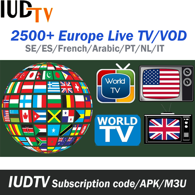 Albanian Tv Channels Iptv Live And Vod Reseller Panel Of Iudtv Subscription  Europe Iptv German - Buy Iptv German,Europe Iptv,Albanian Tv Channels Iptv
