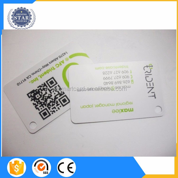 plastic pvc facebook id card school student photo id card employee