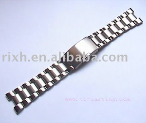 Titanium Watchband/ watch band/watch parts polishing surface