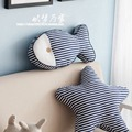 Mediterranean style handmade mattress ocean tropical fish shaped home fabric sofa cushion pillow cushions round Free