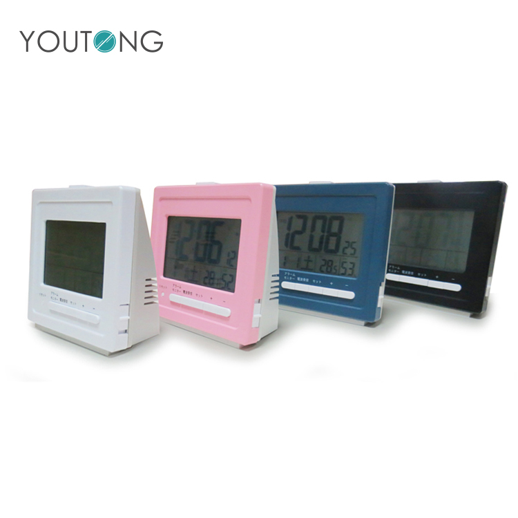 Cheap Mini Multifunctional Digital Alarm Desk Clock With Logo
