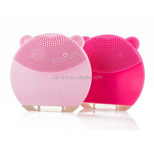 Best electric sonic facial cleansing brush face wash skin exfoliator scrub system automatic exfoliating scrubber