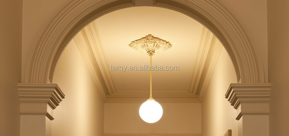 yisenni luxury gypsum moulding cornice decor home - Decor Moulding