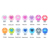 BPA Free Silicone Beads Baby Pacifier Holder Clip Chain for Silicone Teether