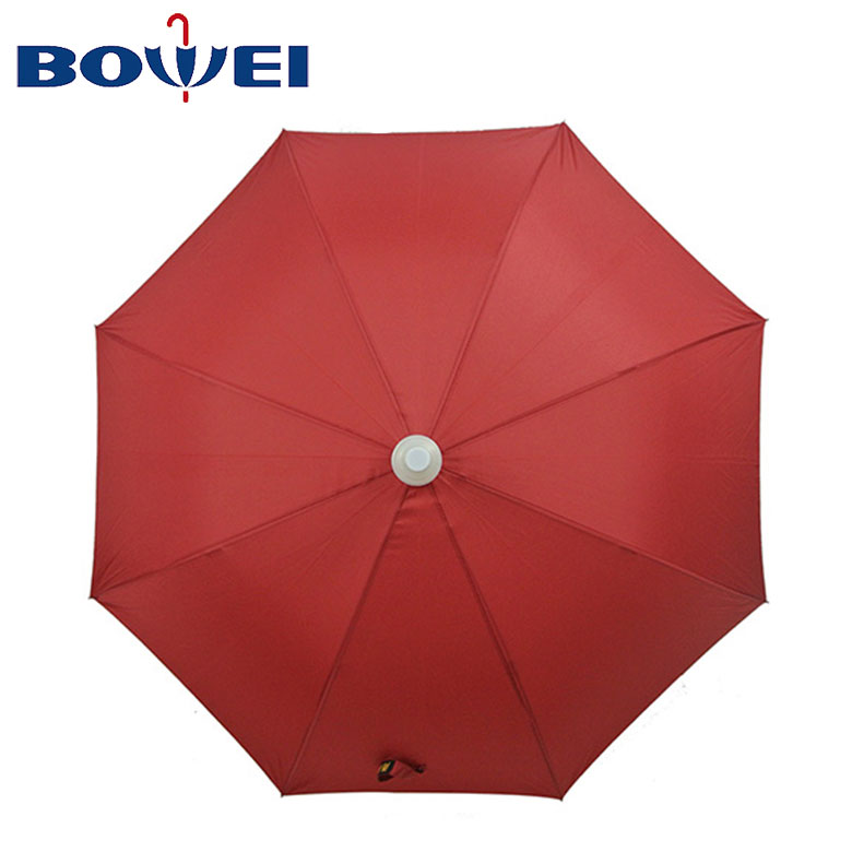 2020 Promotional  Factory Price Windproof Pongee Straight Handled Umbrella