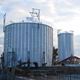 2500 ton steel rice silo for grain storage