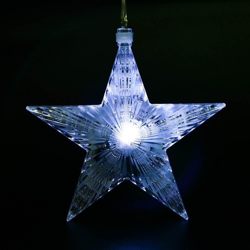 5 stars dc6v led star light ip65 4w outdoor falling star for Christmas star outdoor lights decorations